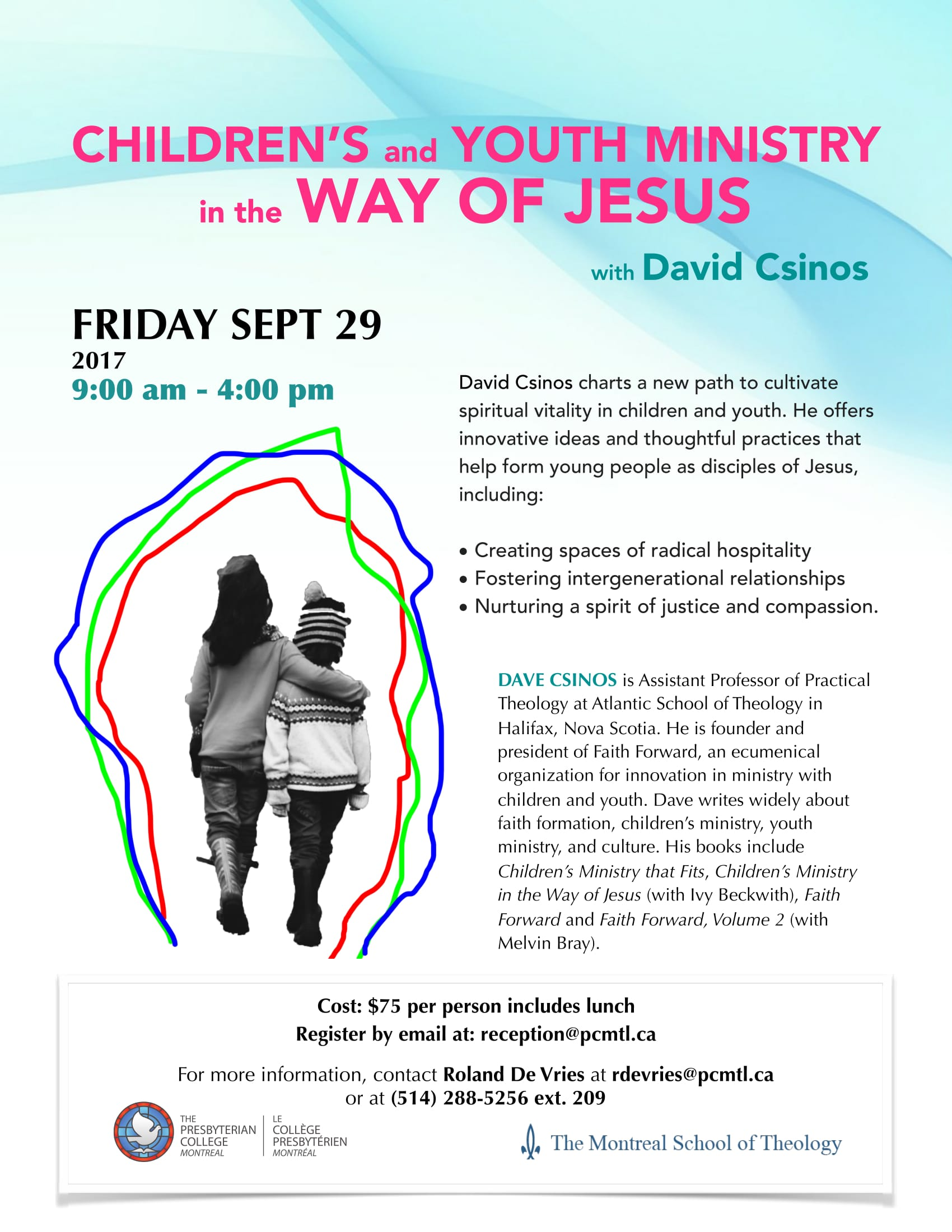 Workshop - CHILDREN'S and YOUTH MINISTRY in the WAY OF JESUS with David Csinos