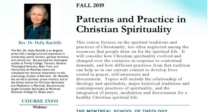Fall 2019: Patterns and Practice in Christian Spirituality